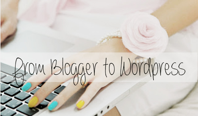 From Blogger to WordPress1