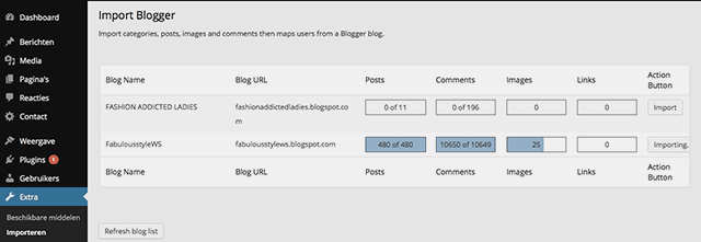 From blogger to wordpress6