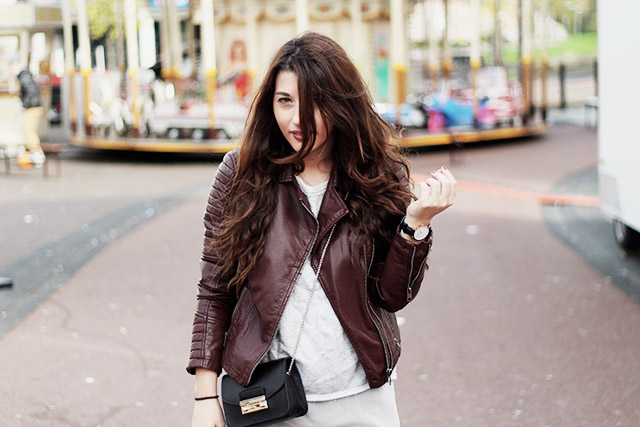 Leather jacket - sevensisters - the sting - DUO boots14