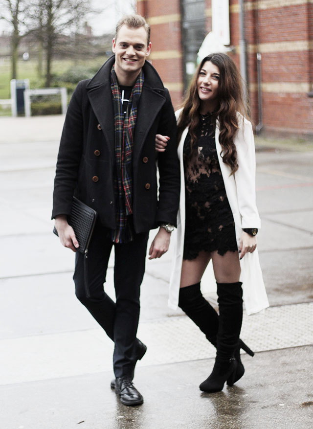 Streetstyle - MBFWA winter 2015 Kevin&wendy- Peter Stigter