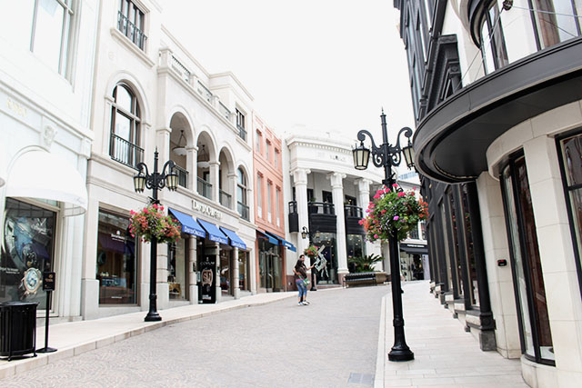 Rodeo Drive Beverly Hills - Los angeles 12