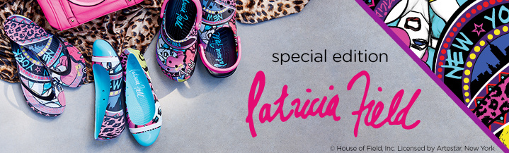 Win Crocs - House of field collection - Patrica Field