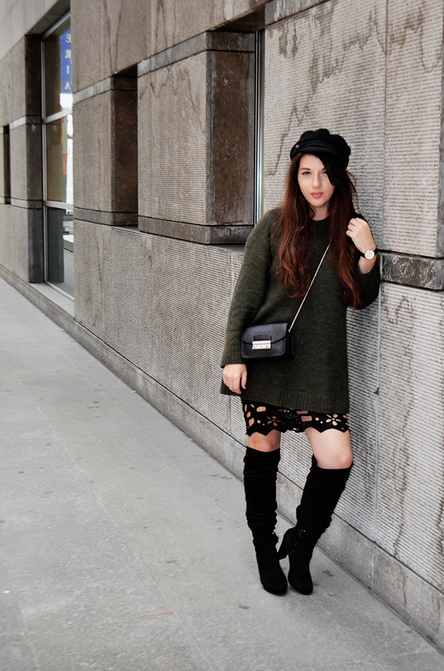 Ontrends look 3 - Lace skirt 21