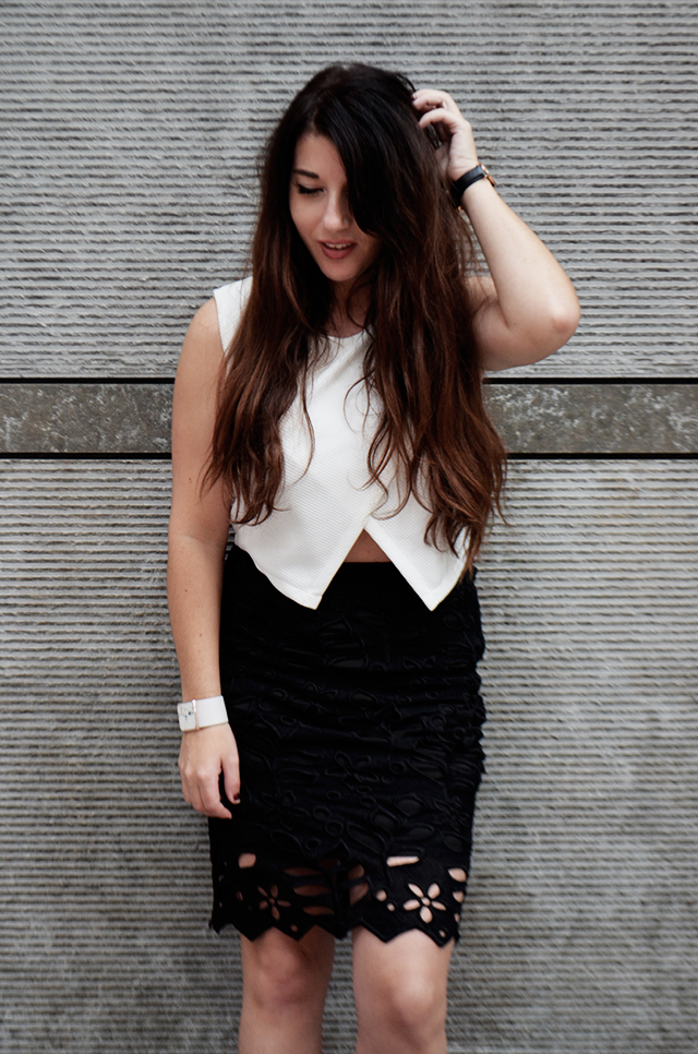 Ontrends look 3 - Lace skirt 4