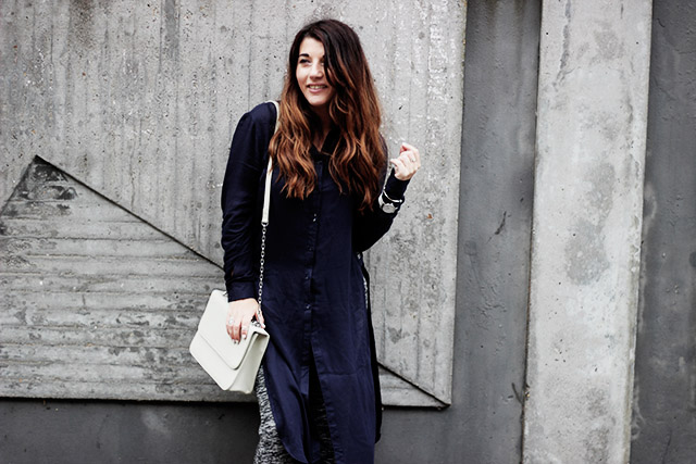 Only blouse - flare pants - Denise roobol bag - Kapten and son watch - adidas 9