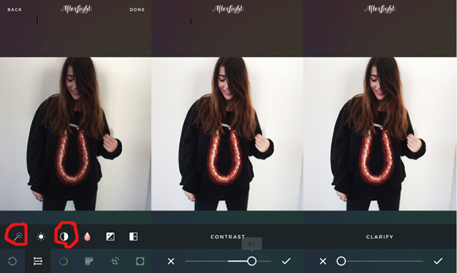 How I edit my Instagram pictures - Wendy van Soest 3