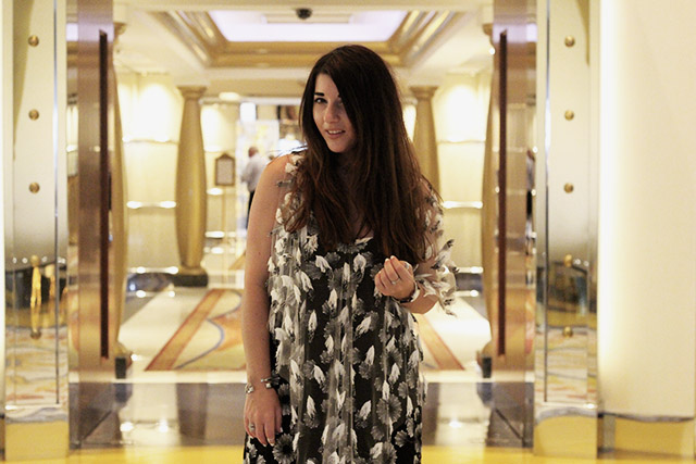 Tony Cohen dress - burj al arab - dubai 3