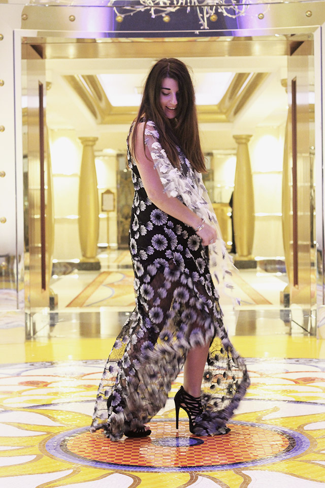 Tony Cohen dress - burj al arab - dubai 60