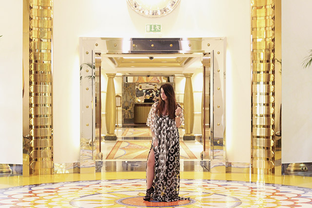 Tony Cohen dress - burj al arab - dubai 61