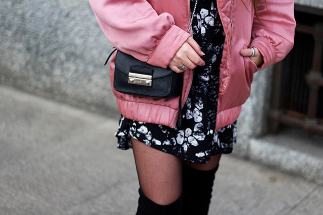 pink-bomber-jacket-mango-stormmarie-dress-furla-bag-overknee-boots-sacha-shoes-milano-wendy-van-soest-19