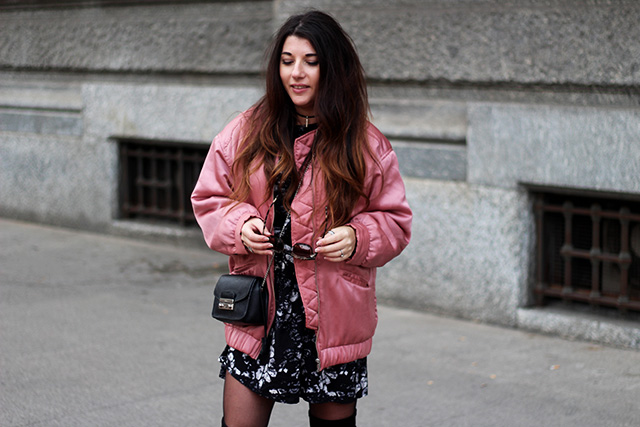 pink-bomber-jacket-mango-stormmarie-dress-furla-bag-overknee-boots-sacha-shoes-milano-wendy-van-soest-8